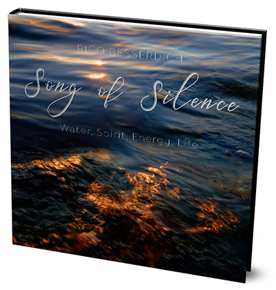 Song of Silence is a fine arts photography book that will take you on a journey into the essential, ineffable beauty of the mighty element, water.